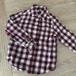 Boys plaid button down shirt - Childrens Place